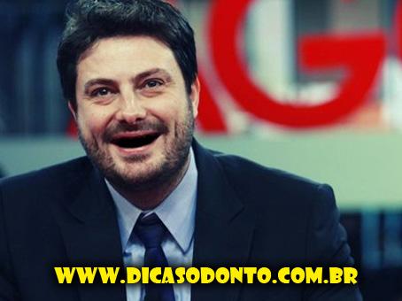 Danilo Gentili sem dente Dicas Odonto 2013