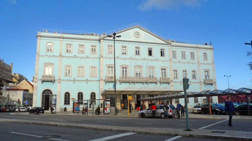 Estação de Comboios Santa Apolónia Lisboa Portugal