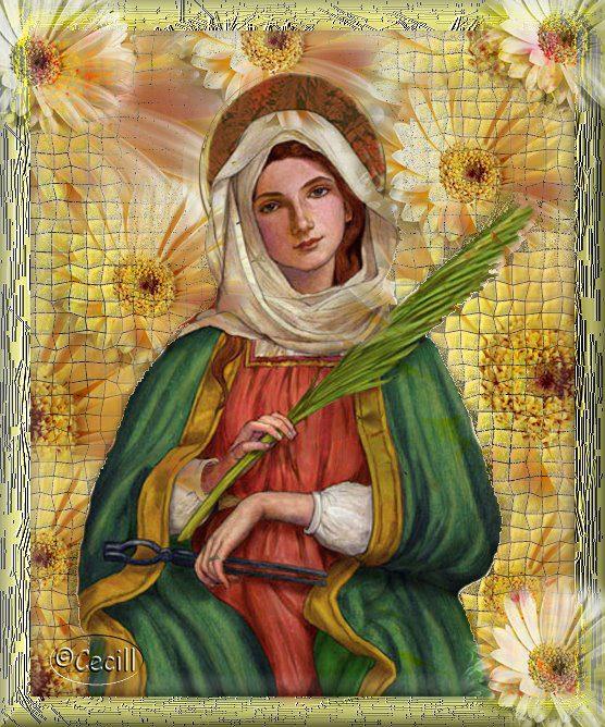 Santa apolonia imagem