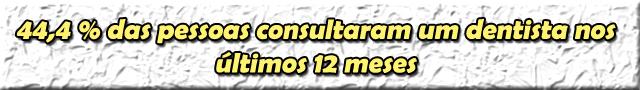 Dados IBGE Saúde Bucal 2013 4