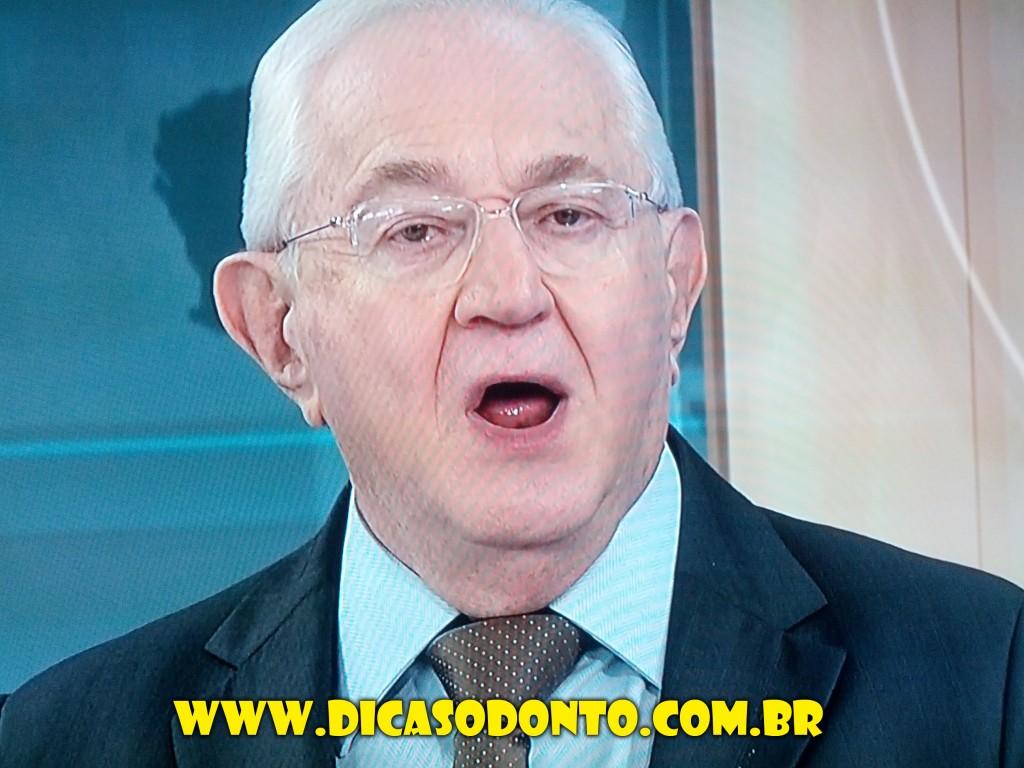 Boris Casoy sem dente Dicas Odonto 2013