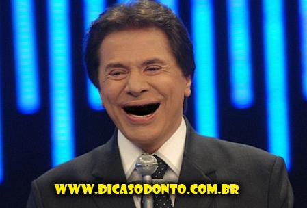 Silvio Santos sem dentes Dicas Odonto 2013