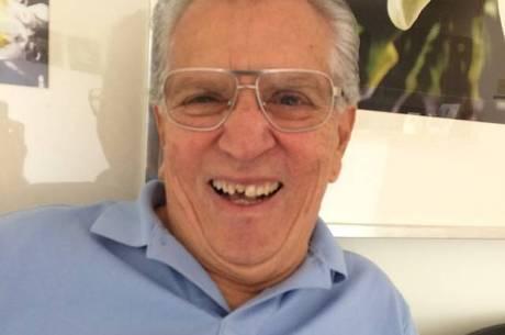 Carlos Alberto de Nóbrega dente quebrado
